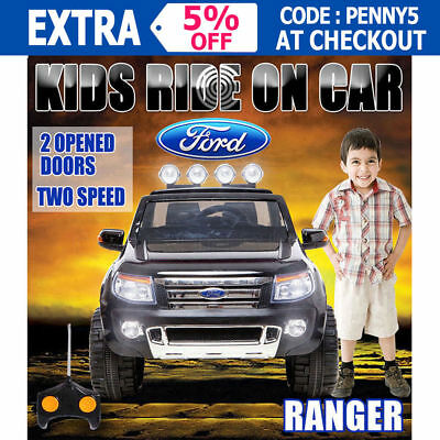 New 12V Licensed Ford Ranger Electric Ride On Car Truck Childrens Toy Motorised