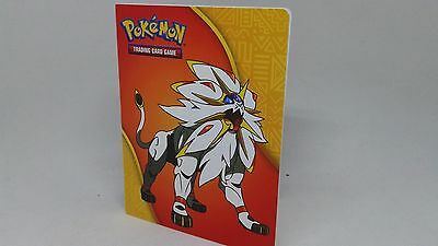 Pokemon Sun Moon Mini Binder Booster Pack Solgaleo
