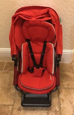 Orbit Baby G2 Stroller Seat Ruby Red Sunshade Sold Out Fast Shipping
