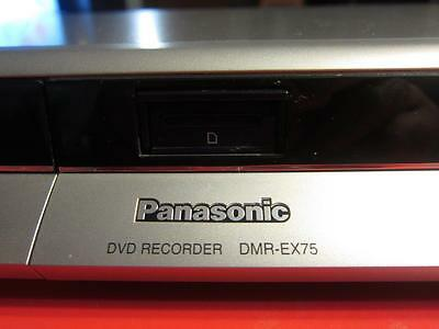 Panasonic DVD RECORDER DMR-EX75 + REMOTE + MANUAL  (160 GB)  COPY VHS TO DVD!