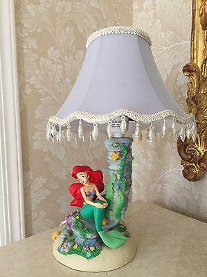 Disney The Little Mermaid Ariel Lamp Princess Decor Rare