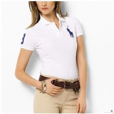 Ralph Lauren Polo  Womens Slim Fit T-Shirts New Season Various Colours UK STOCK