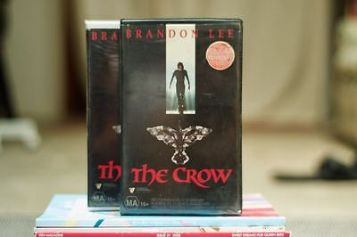 The Crow Vintage Clamshell VHS