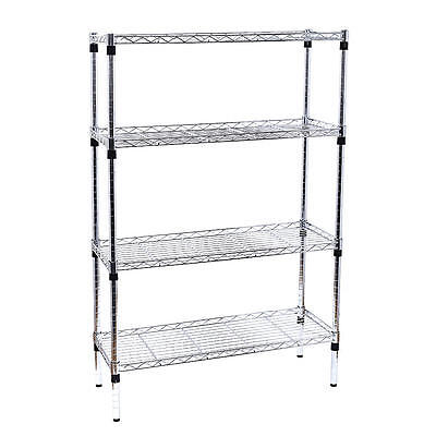 Garage Heavy Duty Shelf Steel Metal Storage 4 Level Adjustable Shelves Unit