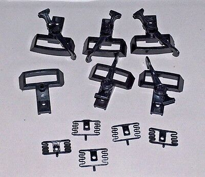 G-SCALE HOOK & LOOP COUPLERS-used