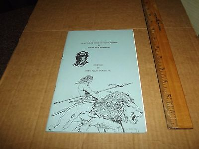 Edgar Rice Burroughs Reference Guide  Tarzan 81/100 1St Ever Printing Signed