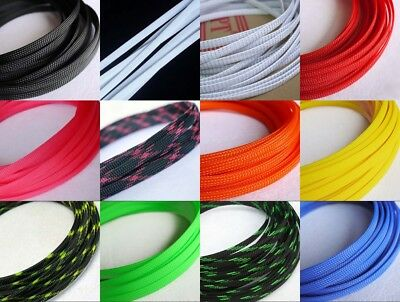 24 Color 8mm Encryption Braided Cable Sleeving/Auto Wire Harnessing/Sheathing