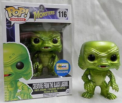 Funko Pop Metallic Creature From The Black Lagoon Gemini Exclusive Vinyl Figure