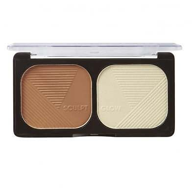 Sunkissed Sculpt and Glow Bronzer & Highlighter Duo