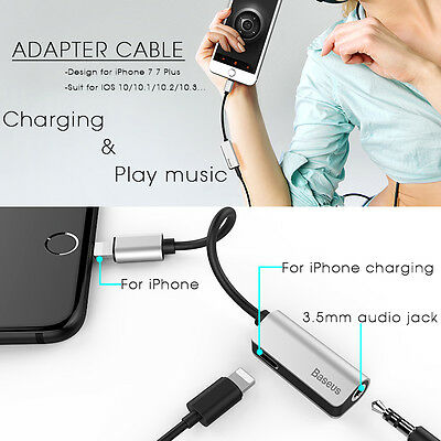 Baseus Audio Cable Adapter For iPhone 7 For Lightning to 3.5mm Adapter CB-158