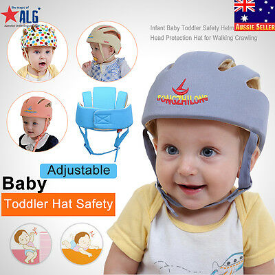 Baby Toddler Safety Helmet Headguard Head Protection Cap Harnesses Adjustable