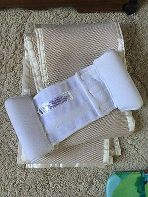 Baby Sleep Positioner And Air Mesh Cot Air Flow
