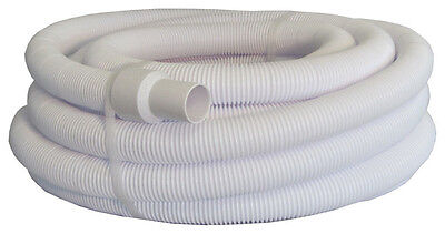 "Pool Style 1.5"" x 10m Metre Swimming Pool Floating Vacuum Hose / Swivel Cuffs"