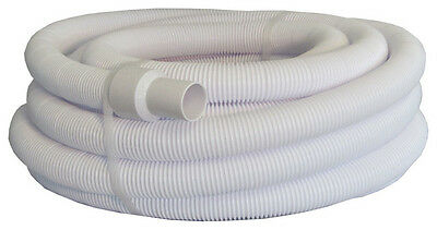 "Pool Style 1.5"" x 15m Metre Swimming Pool Floating Vacuum Hose / Swivel Cuffs"