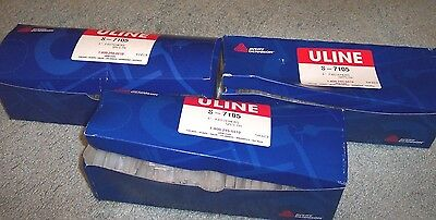 Lot Of 3 Boxes Of Avery Uline Plastic Price Tag Fasteners S-7105