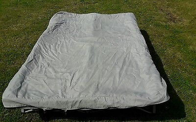 Quality Anywhere Bed Double With Folding Metal Frame For Camping,fishing,