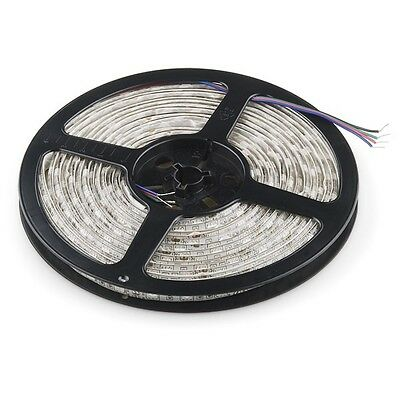 5m RGB LED Strip 12V DC, SMD5050, 60LED/m, IP67 - WHITE (C33)