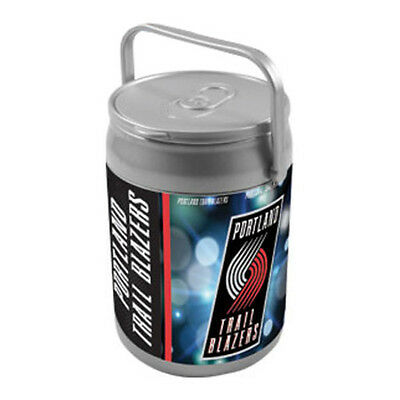 Picnic Time Unisex  Can Cooler Portland Trailblazers Print Silver/Grey Size OSFA