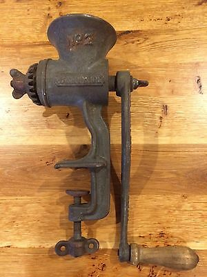 Old Antique Hand Mincer