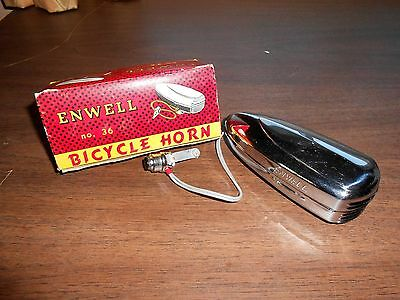 Vintage Enwell Bicycle Horn No. 36 New in Box
