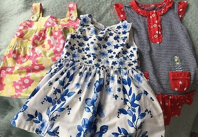 Girls summer bundle 9-12 months Next Tu