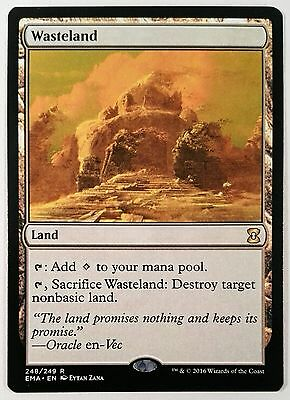 MTG: 1x WASTELAND Eternal Masters rare land, NM - UK SELLER