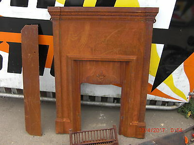 Ornate Georgian Cast Iron Fire Place REFURB BARGAIN