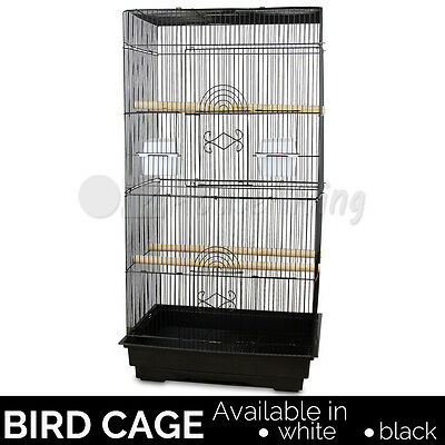 90cm Bird Cage Parrot Pet Carrier Portable Canary Budgie Finch Perch Large