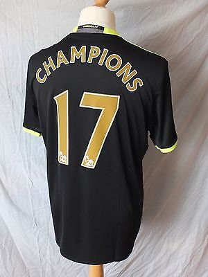 Brand New Genuine Chelsea 2016/17 CHAMPIONS 17 Away Shirt Mens S M L