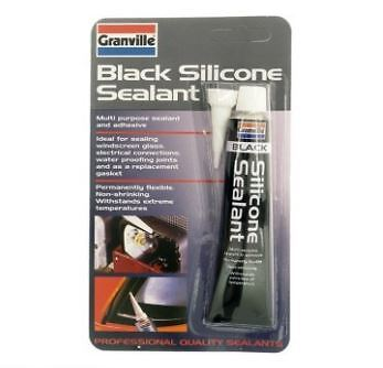 Granville Silicone sealant - Black - 40g - flexible - 0373A