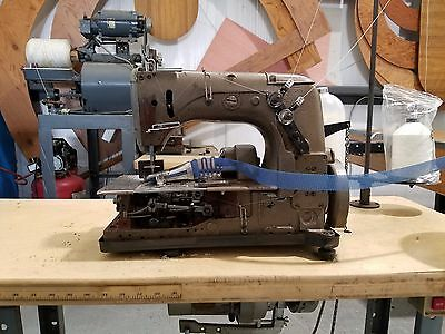 "Union Special Table Top Carpet Binding Machine with 1-1/4"" Folder"