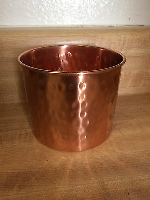 Absolut Elyx NEW RARE Mini Copper Bucket Set of 4 Collectable Drink Bucket