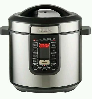 Like new Philips HD2137/72 All in One Cooker with 6 litre capacity with box