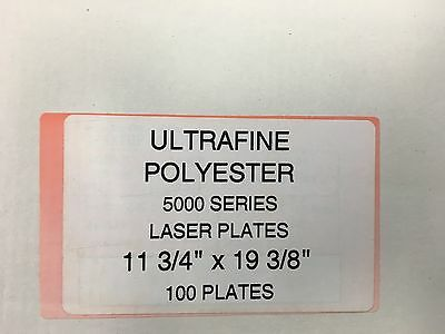 Polyester Laser Plates (2-Sided) 11-3/4 x 19-3/8  Xante/ HP 5000-5100  500SERIES