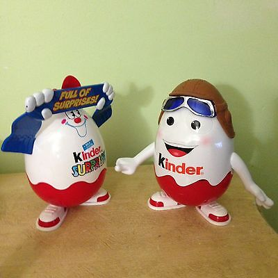 Kinder Surprise Set Of Two Containers Only