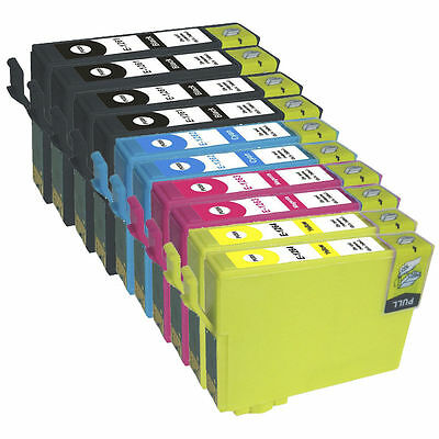 10 Pk Non-Oem Ink Epson T126 126 Nx430 Workforce 520 545 630 633 635 Wf-3520 840