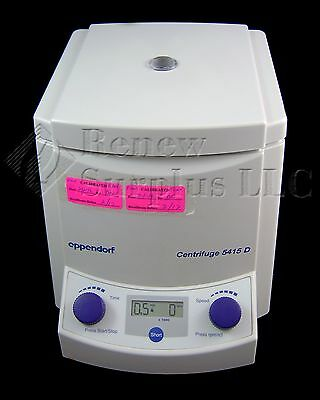 Eppendorf 5415D Centrifuge with F45-24-11 Rotor and Lid