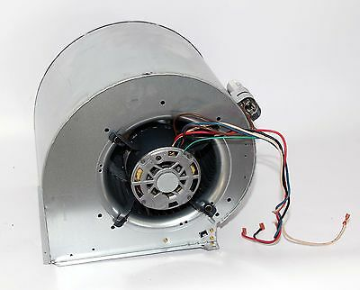 Carrier furnace main air blower fan assembly housing with GE motor 1/2HP 115V