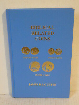 Biblical Related Coins by Lovette Hardcover Old & New Testament