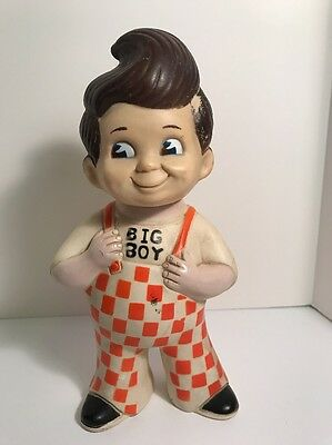 Vintage Big Boy Bank Figurine 1973 Advertising