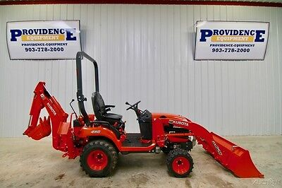 2015 Kubota Bx25Dlb 4Wd Backhoe Loader, 2-Range, Only 48 Hours!