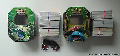 360 x Pokemon Cards (mixed sets) with Tin VF & CHECKED