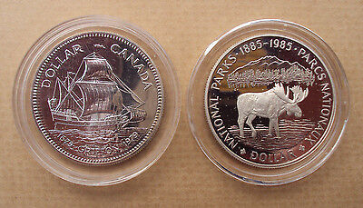 Canada $1 silver dollar - choice of dates