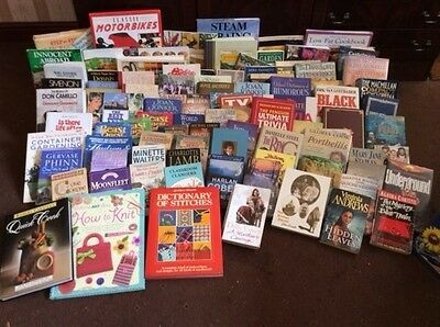 Job lot  - books fiction and non fiction
