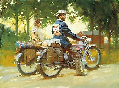 "Direct from the Artist - ""Due West"" limited edition paper print by David Uhl"