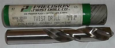 Vintage Precision Twist Drill 39/64 High Speed Screw Machine Twist Drill  NOS