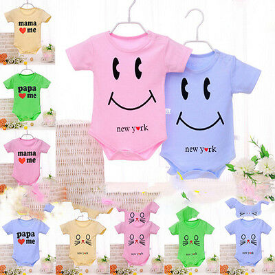 Baby Romper Cotton Baby Boy Girl Clothes New Born Baby Jumpsuit Summer ESUS