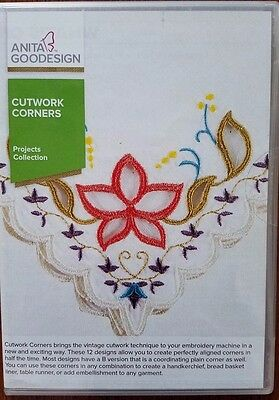 Anita Goodesign Cutwork Corners and Estate