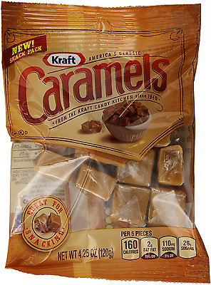 Kraft Caramels, 4.25 Ounce (Pack of 12)
