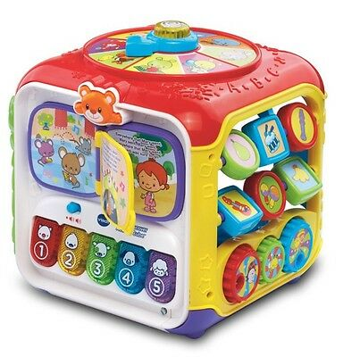 VTech Sort Discover Activity Cube, Toddler Kids Educational learning Toy New